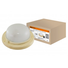 Светильник НПБ1101 сосна круг 100Вт IP54 TDM